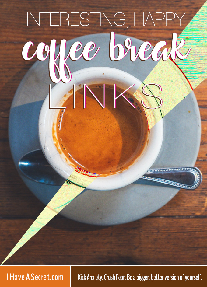 Good News Links - Interesting, Happy Coffee Break Links (Nov27) IHaveaSecret.com